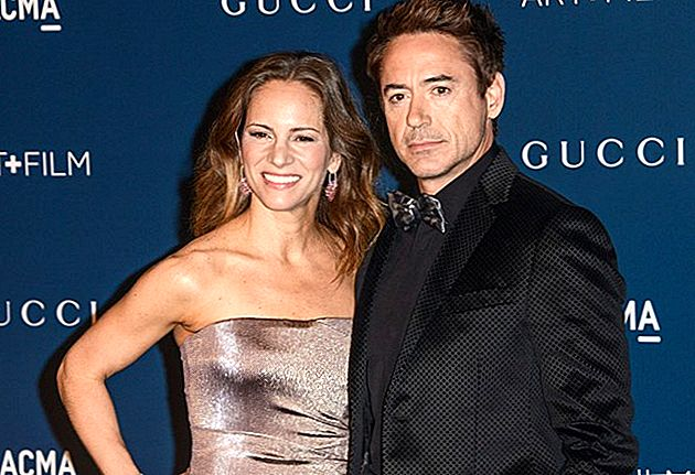 Robert Downey Jr. és feleség Welcome Baby Girl
