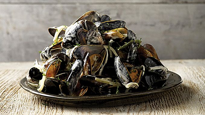 Muskelbyggande Moules Marinière recept