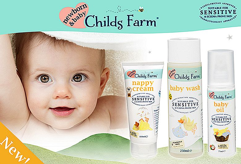 Introduktion till Childs Farms nya barnsortiment