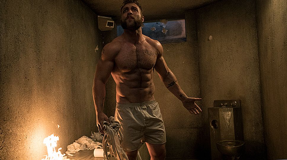 Selvmordskampmål: Jai Courtney's Captain Boomerang Workout